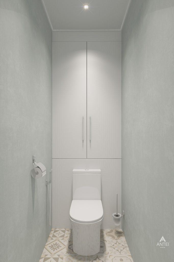 Дизайн интерьера квартиры в Гомеле, ул. Барыкина - туалет фото №1