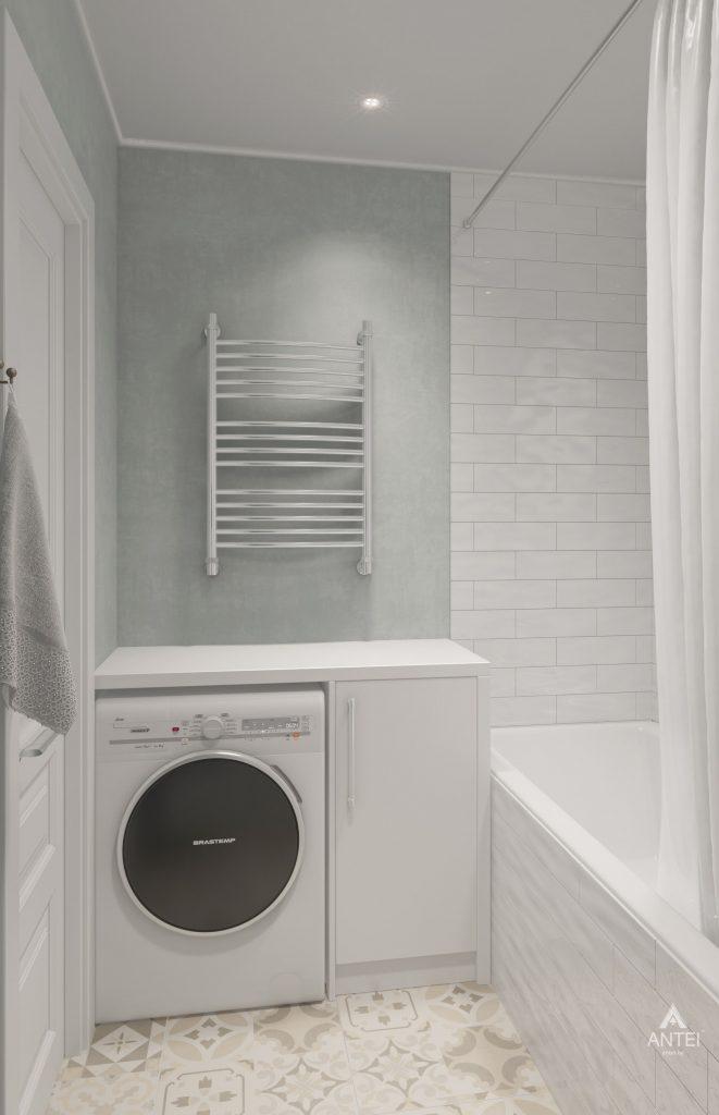 Дизайн интерьера квартиры в Гомеле, ул. Барыкина - ванная фото №4