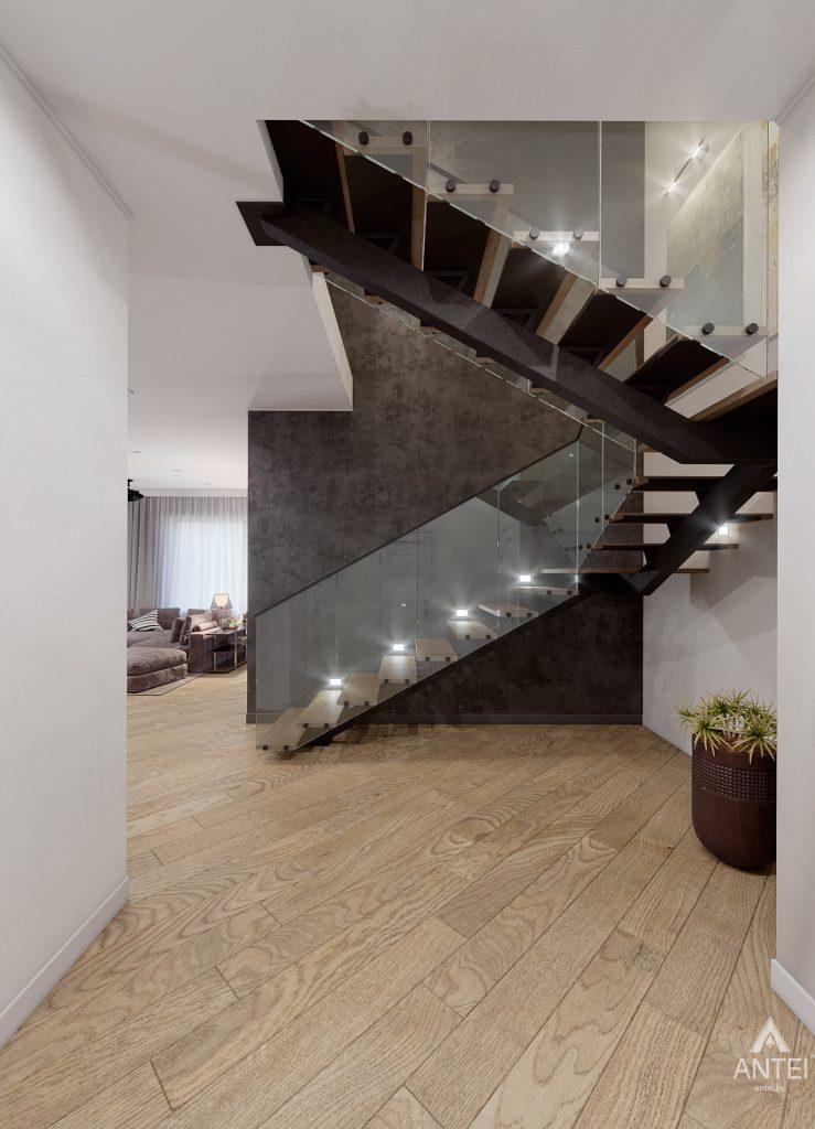 Дизайн интерьера дома в п. Романовичи - прихожая фото №1