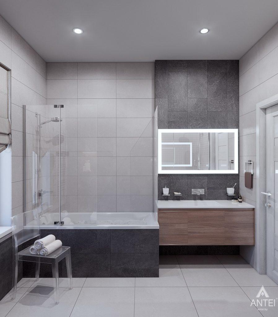 Дизайн интерьера дома в п. Романовичи - санузел фото №1