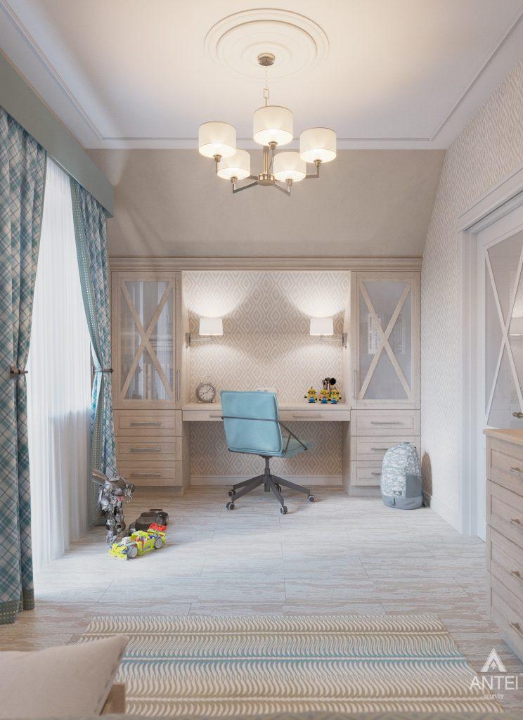 Дизайн интерьера дома в мкр-не Романовичи - детская спальня фото №1