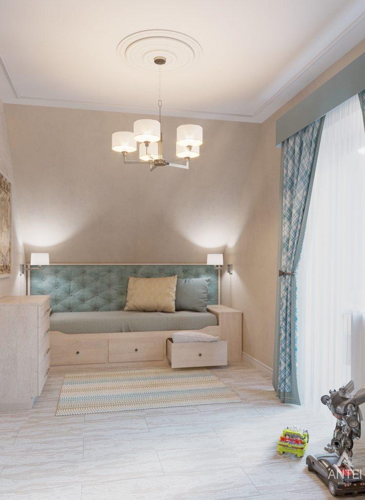 Дизайн интерьера дома в мкр-не Романовичи - детская спальня фото №2