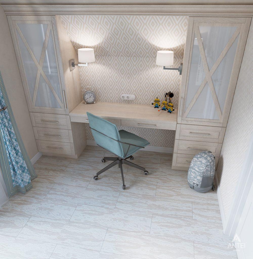 Дизайн интерьера дома в мкр-не Романовичи - детская спальня фото №3