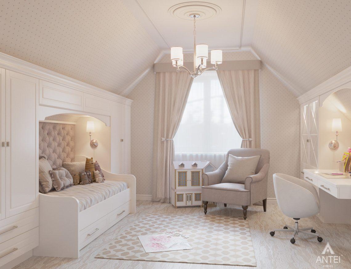 Дизайн интерьера дома в мкр-не Романовичи - детская комната фото №1