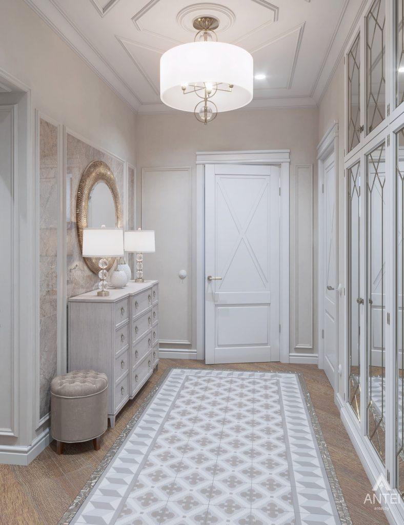 Дизайн интерьера дома в мкр-не Романовичи - прихожая фото №1
