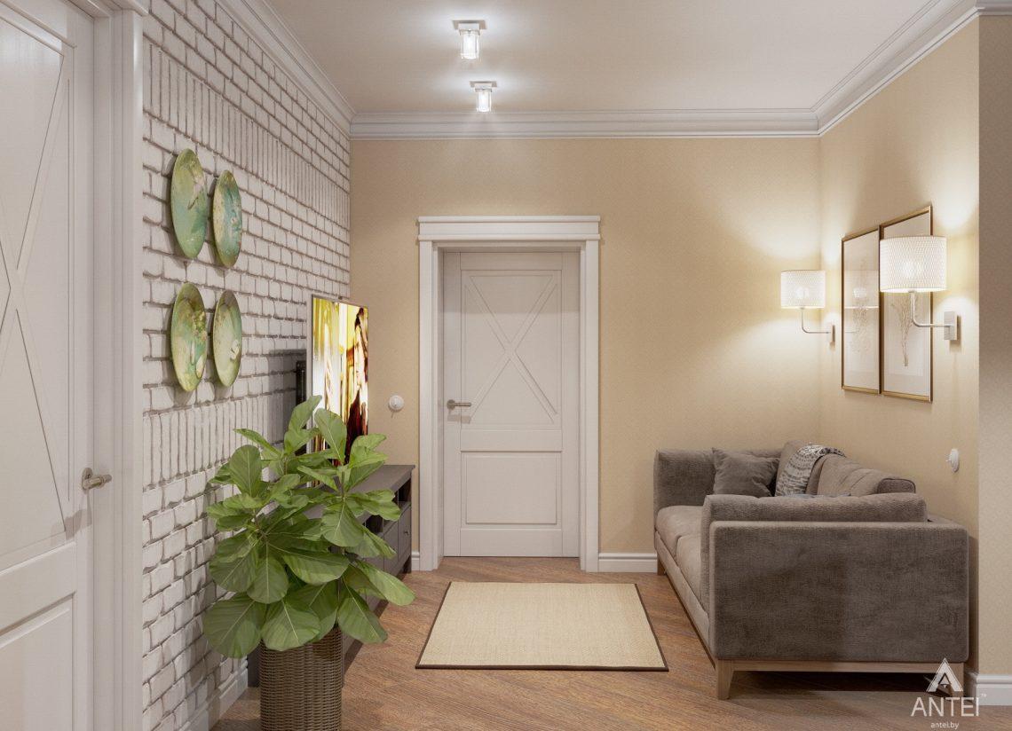 Дизайн интерьера дома в мкр-не Романовичи - комната отдыха фото №1