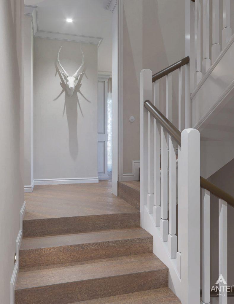 Дизайн интерьера дома в мкр-не Романовичи - коридор фото №1