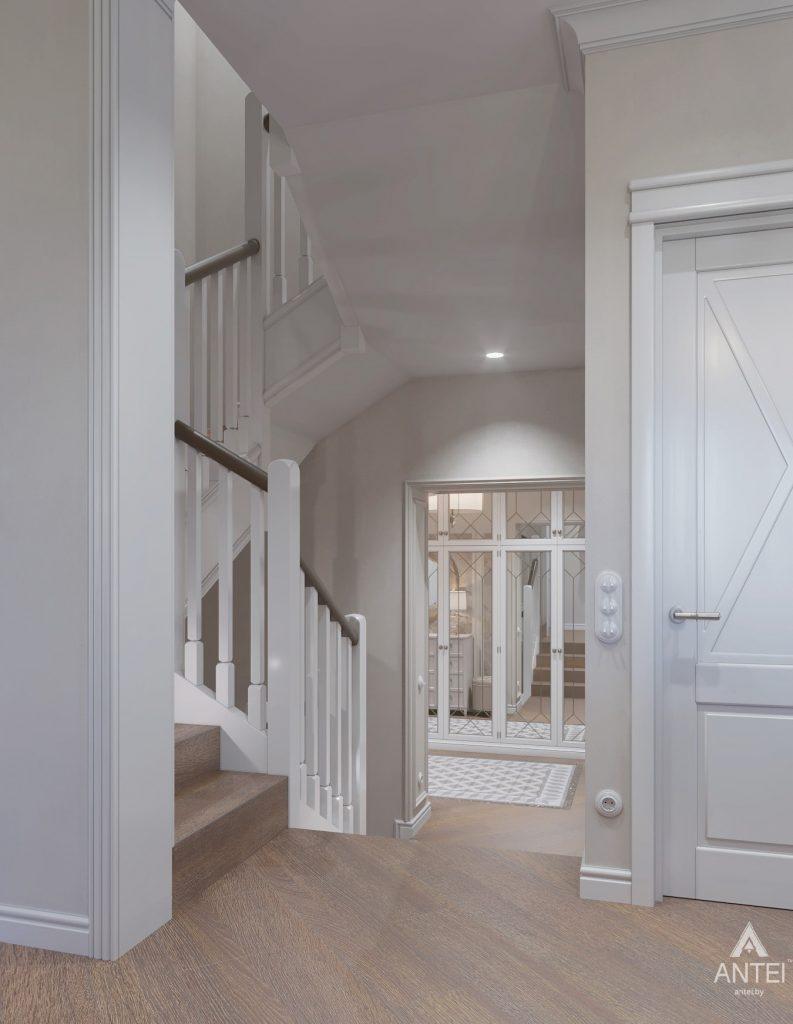 Дизайн интерьера дома в мкр-не Романовичи - коридор фото №2