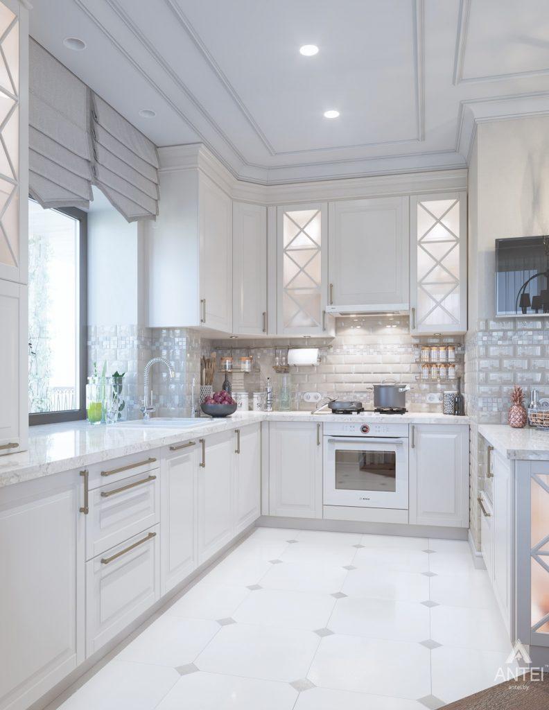 Дизайн интерьера дома в мкр-не Романовичи - кухня фото №2