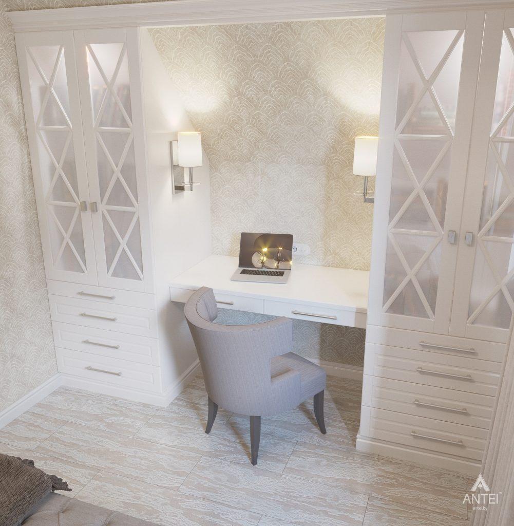Дизайн интерьера дома в мкр-не Романовичи - спальня фото №4