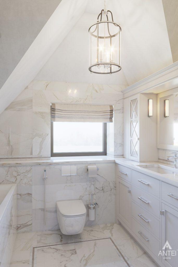 Дизайн интерьера дома в мкр-не Романовичи - ванная фото №1