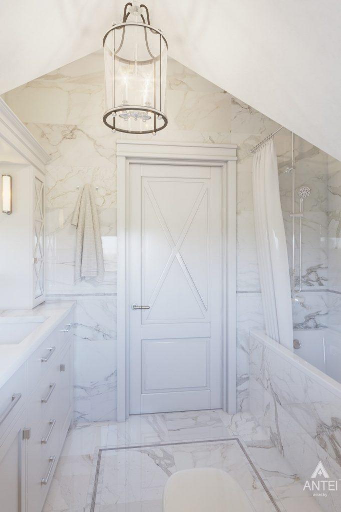 Дизайн интерьера дома в мкр-не Романовичи - ванная фото №2