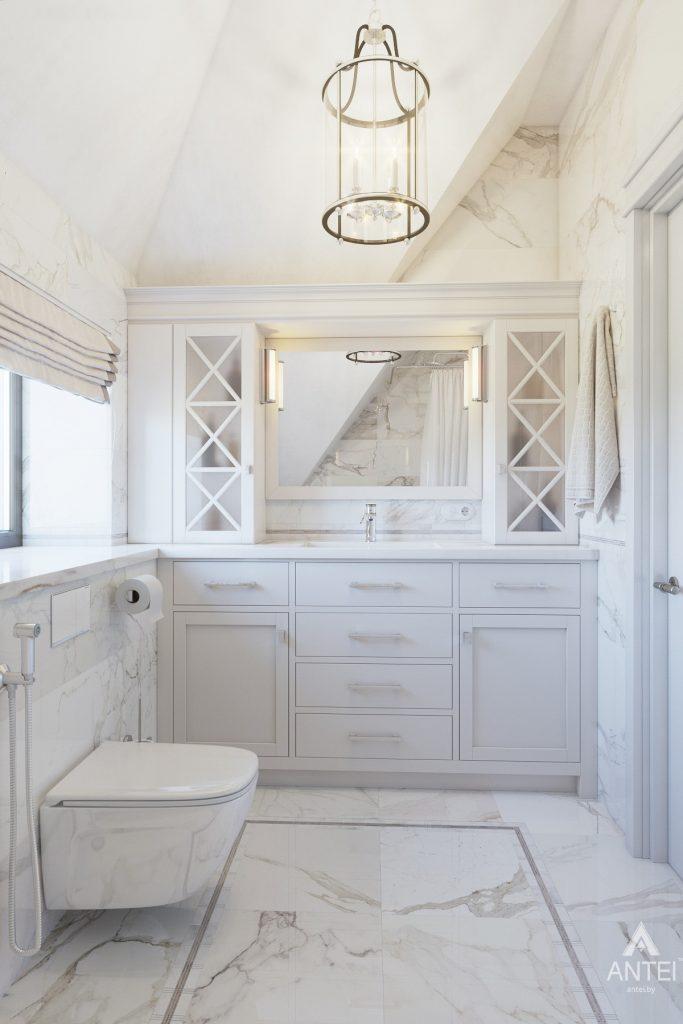 Дизайн интерьера дома в мкр-не Романовичи - ванная фото №4