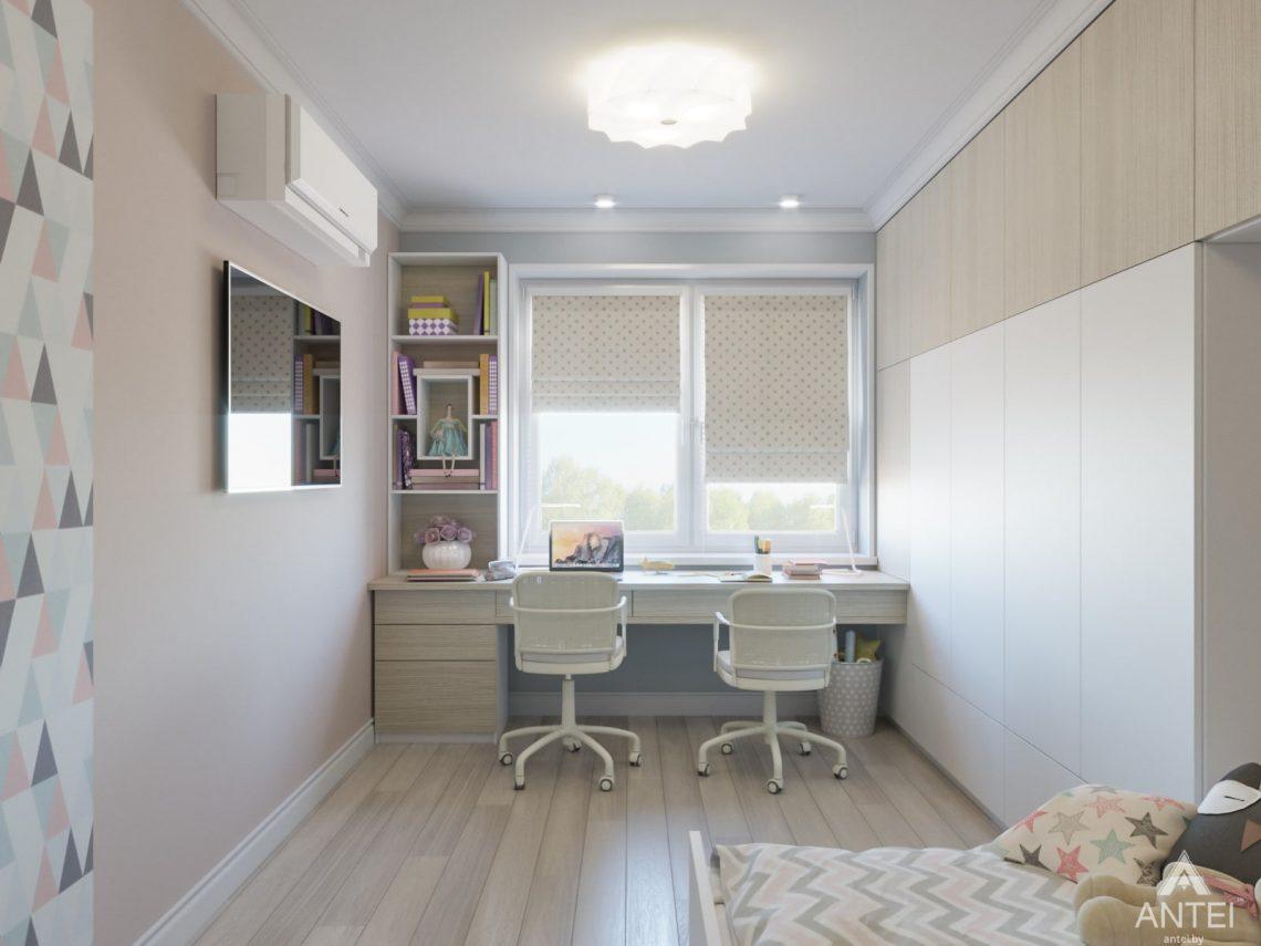Дизайн интерьера трехкомнатной квартиры в Гомеле, ул. Свиридова - детская комната фото №1