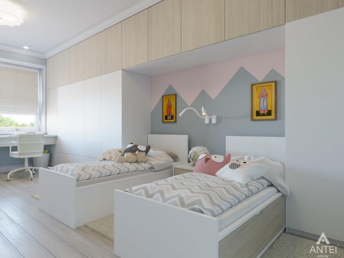 Дизайн интерьера трехкомнатной квартиры в Гомеле, ул. Свиридова - детская комната фото №2