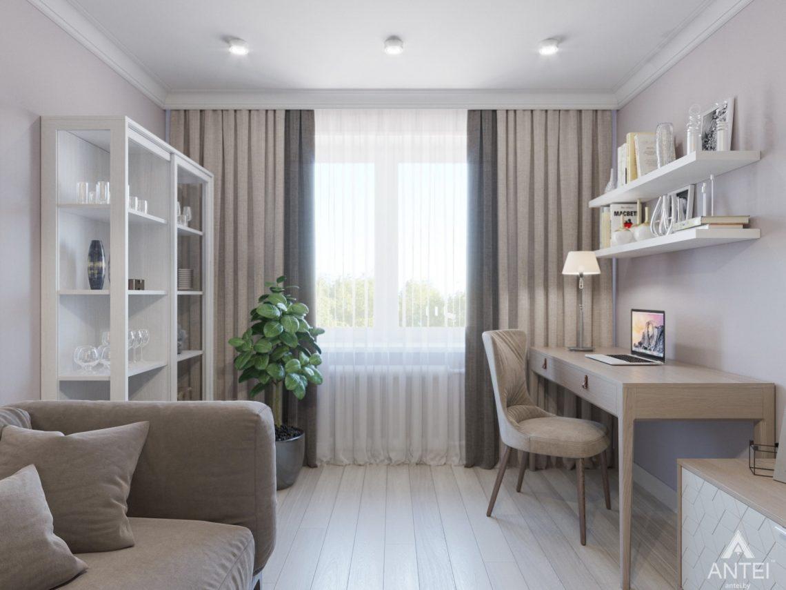 Дизайн интерьера трехкомнатной квартиры в Гомеле, ул. Свиридова - гостиная фото №1