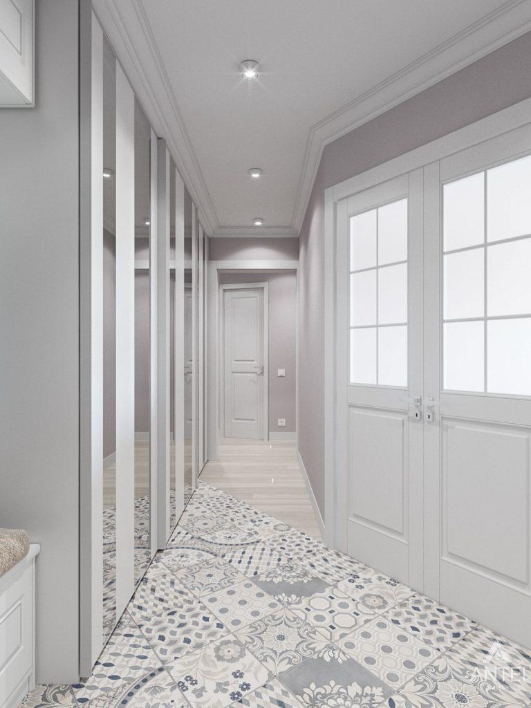 Дизайн интерьера трехкомнатной квартиры в Гомеле, ул. Свиридова - коридор фото №3
