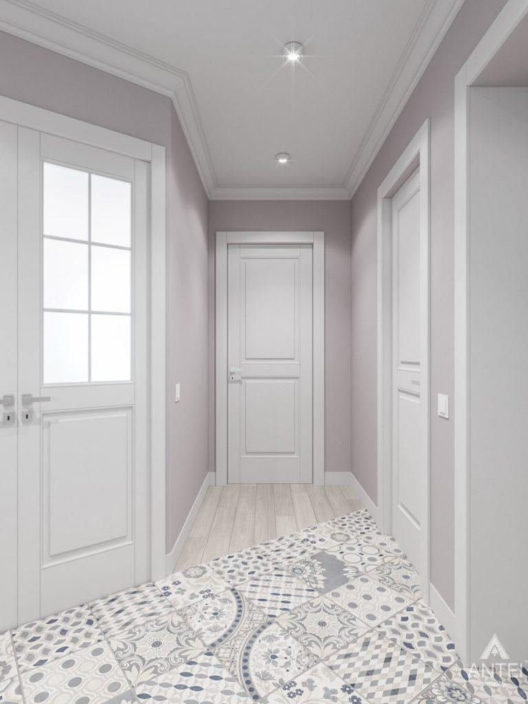 Дизайн интерьера трехкомнатной квартиры в Гомеле, ул. Свиридова - коридор фото №4