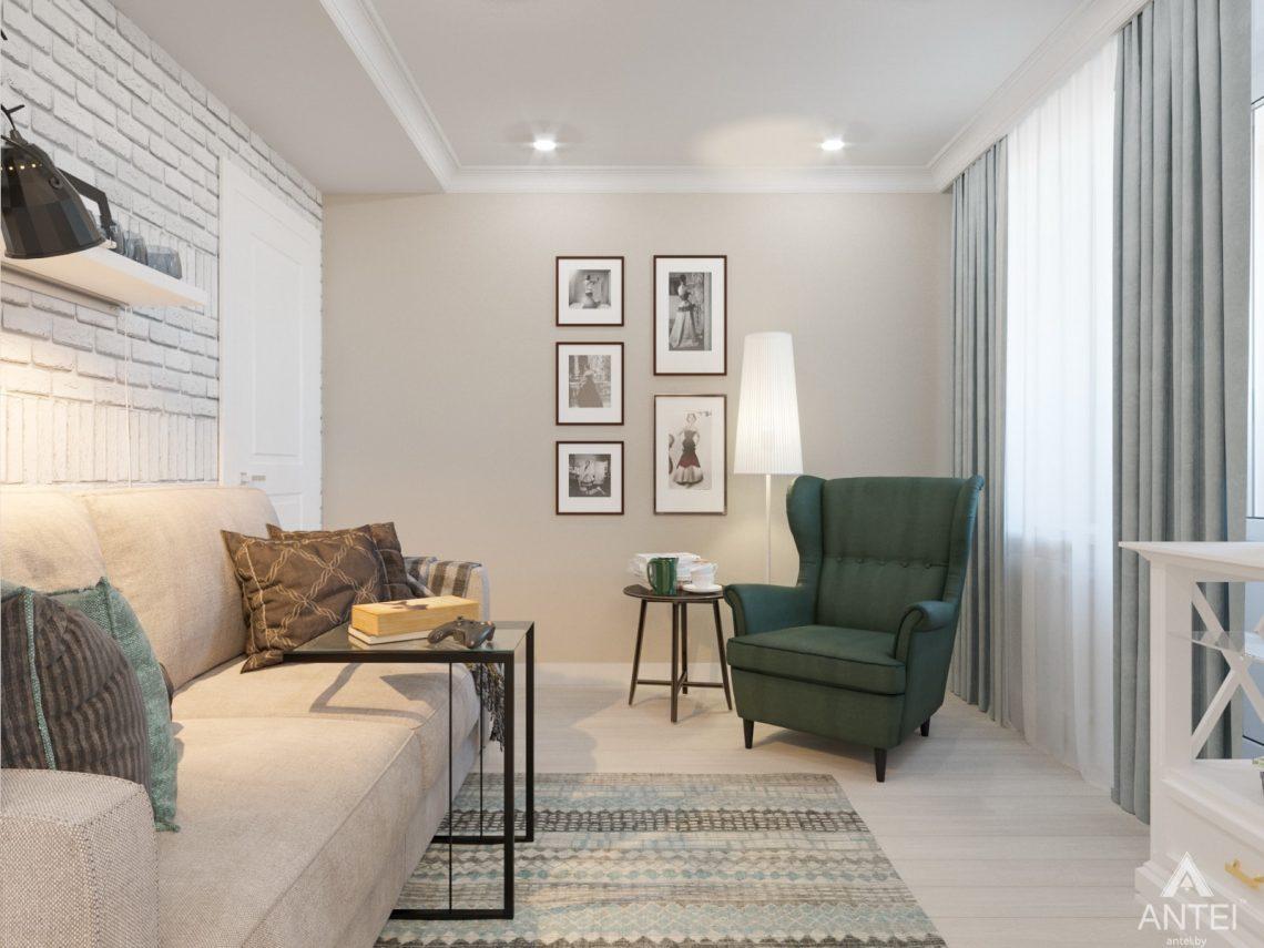 Дизайн интерьера трехкомнатной квартиры в Гомеле, ул. Свиридова - кухня фото №4