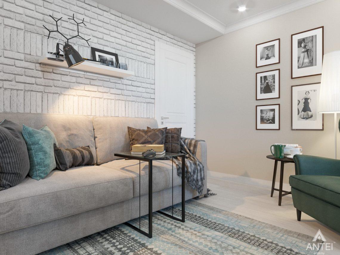 Дизайн интерьера трехкомнатной квартиры в Гомеле, ул. Свиридова - кухня фото №5