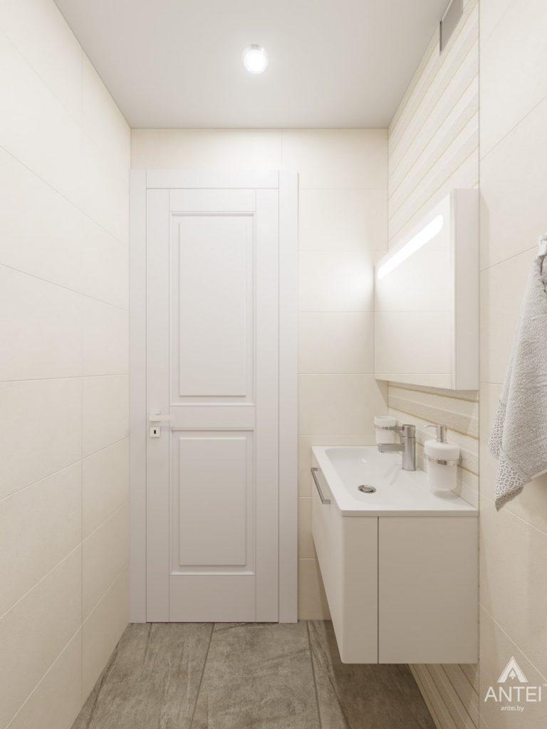 Дизайн интерьера трехкомнатной квартиры в Гомеле, ул. Свиридова - санузел фото №1