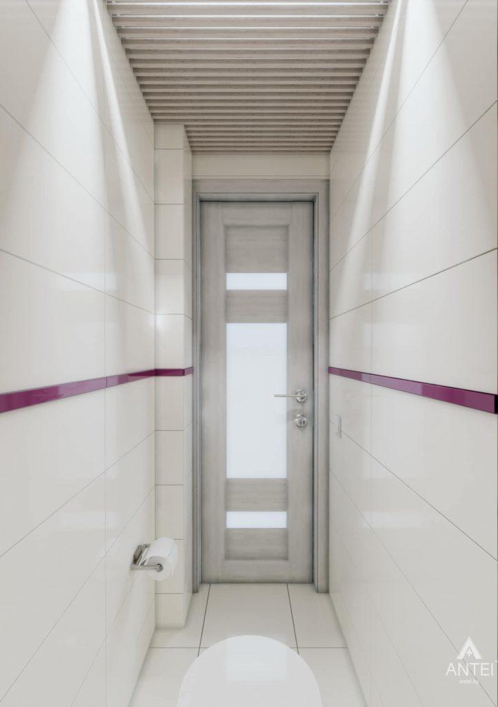 Дизайн интерьера двухкомнатной квартиры в Гомеле, ул. Пионерская - туалет фото №2