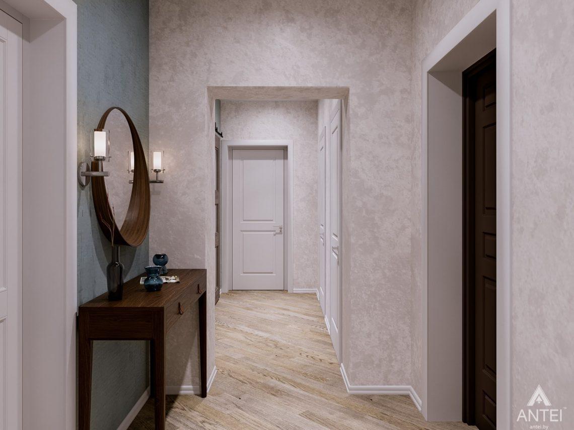 Дизайн интерьера двухкомнатной квартиры в Гомеле, ул. Карла Маркса - прихожая фото №2