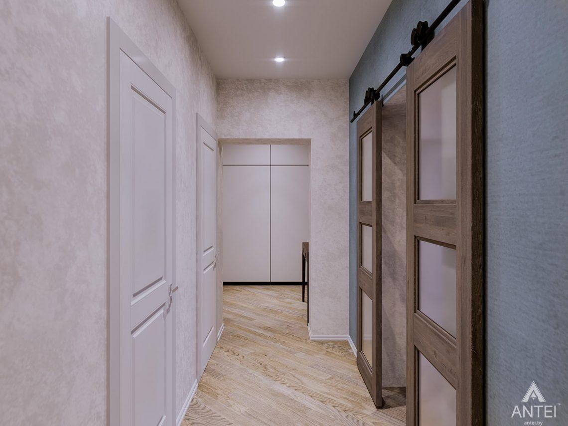 Дизайн интерьера двухкомнатной квартиры в Гомеле, ул. Карла Маркса - прихожая фото №1
