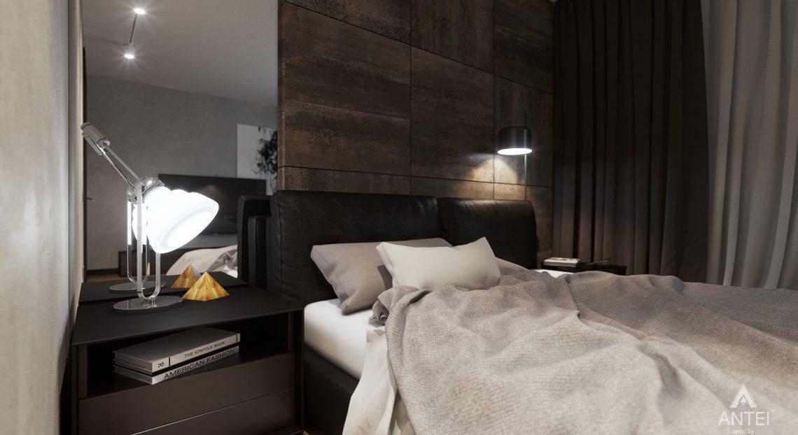 Дизайн интерьера трехкомнатная квартира в Жлобине - спальня фото №3