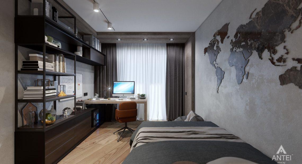 Дизайн интерьера трехкомнатная квартира в Жлобине - детская комната фото №3