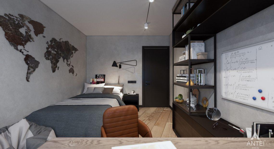 Дизайн интерьера трехкомнатная квартира в Жлобине - детская комната фото №4
