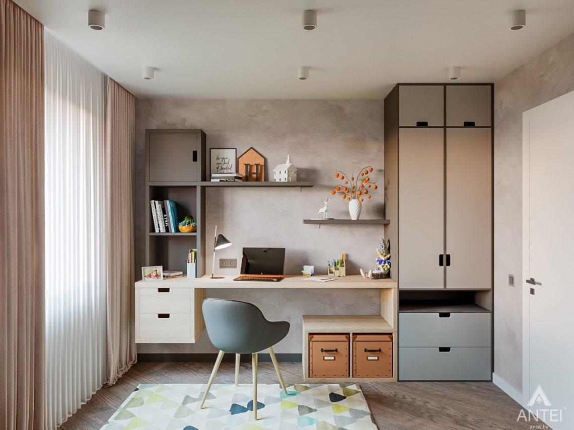Дизайн интерьера трехкомнатная квартира в Светлогорске - детская комната фото №2