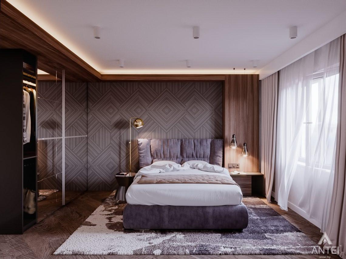 Дизайн интерьера трехкомнатная квартира в Светлогорске - спальня фото №1