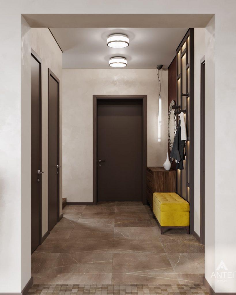 Дизайн интерьера дома в п. Большевик -прихожая фото №2