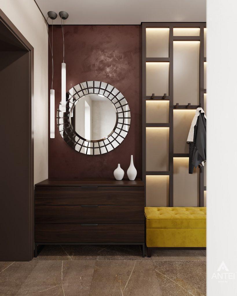 Дизайн интерьера дома в п. Большевик -прихожая фото №1
