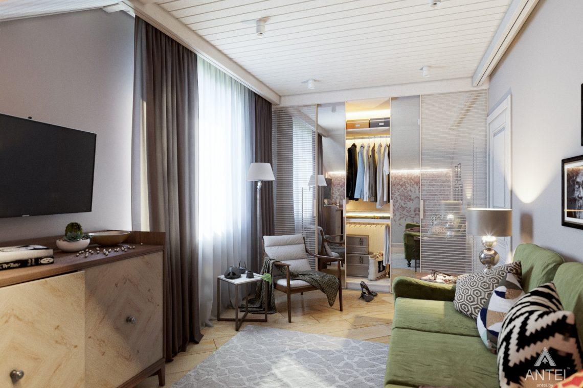 Дизайн интерьера дома c мансардой в Гомеле - комната отдыха фото №1