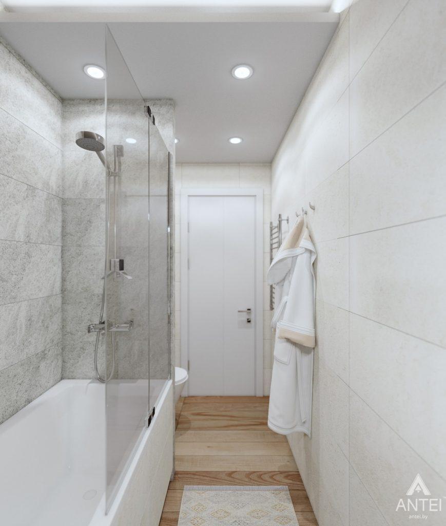 Дизайн интерьера дома c мансардой в Гомеле - санузел фото №3