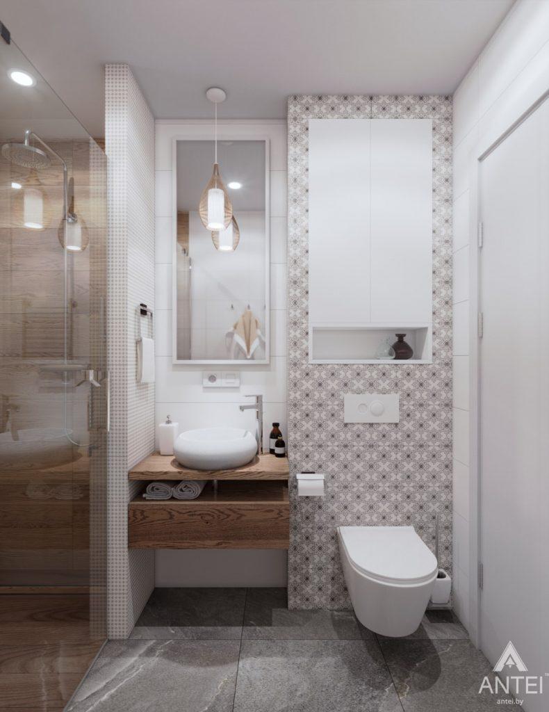 Дизайн интерьера дома c мансардой в Гомеле - санузел фото №4