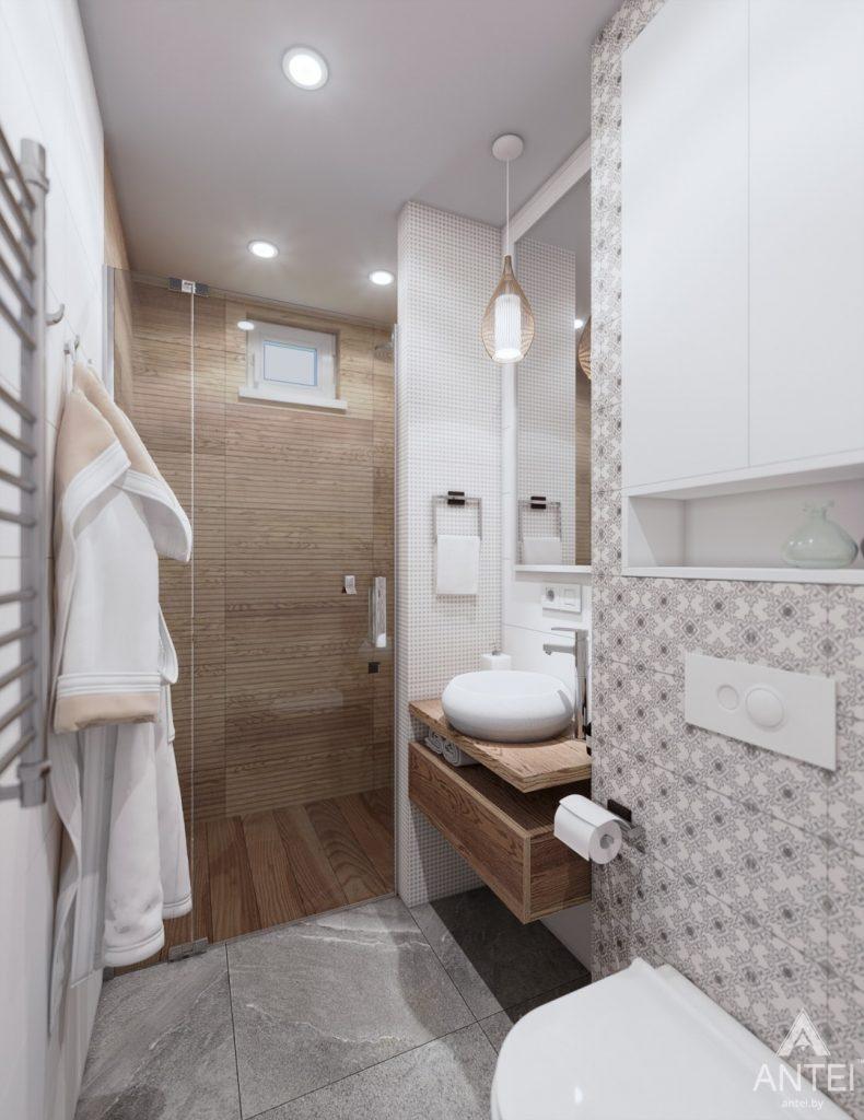 Дизайн интерьера дома c мансардой в Гомеле - санузел фото №5