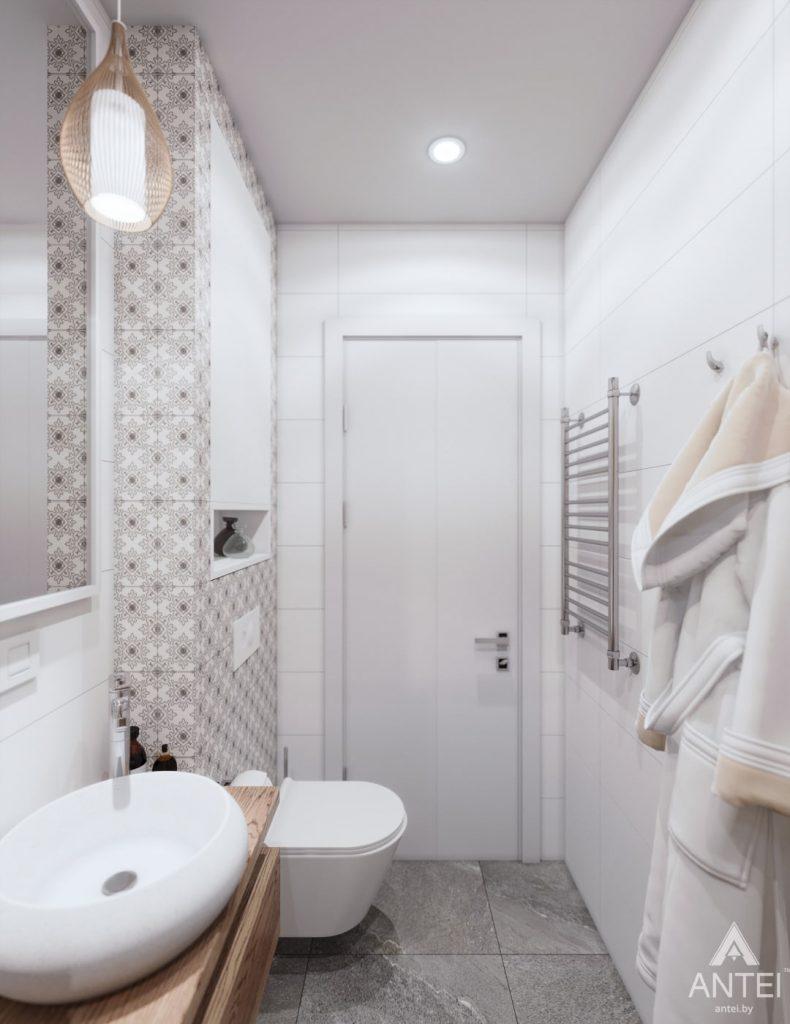 Дизайн интерьера дома c мансардой в Гомеле - санузел фото №6