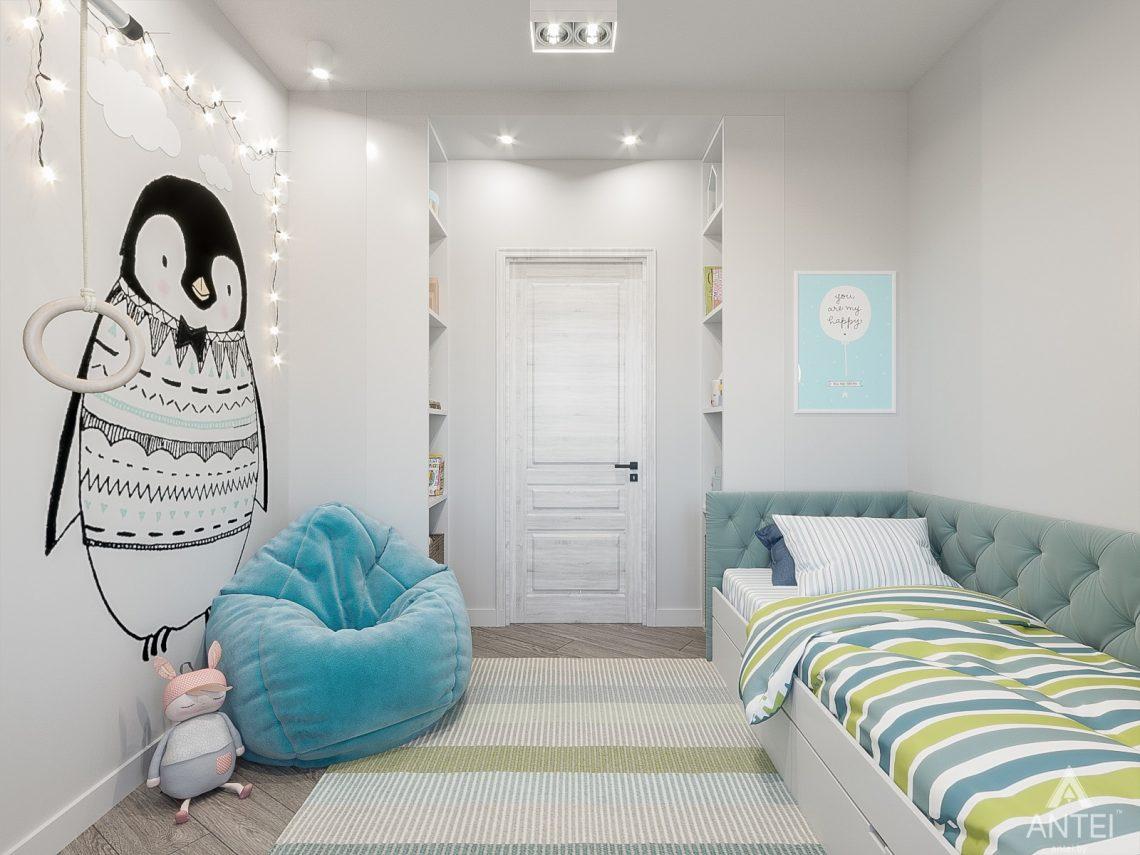 Дизайн интерьера трехкомнатная квартира в Гомеле , ул. Волотовская - детская комната фото №3