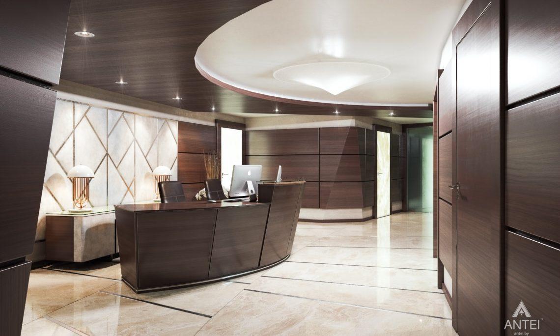 Дизайн интерьера офиса финансовой компании в Москве - холл фото №2