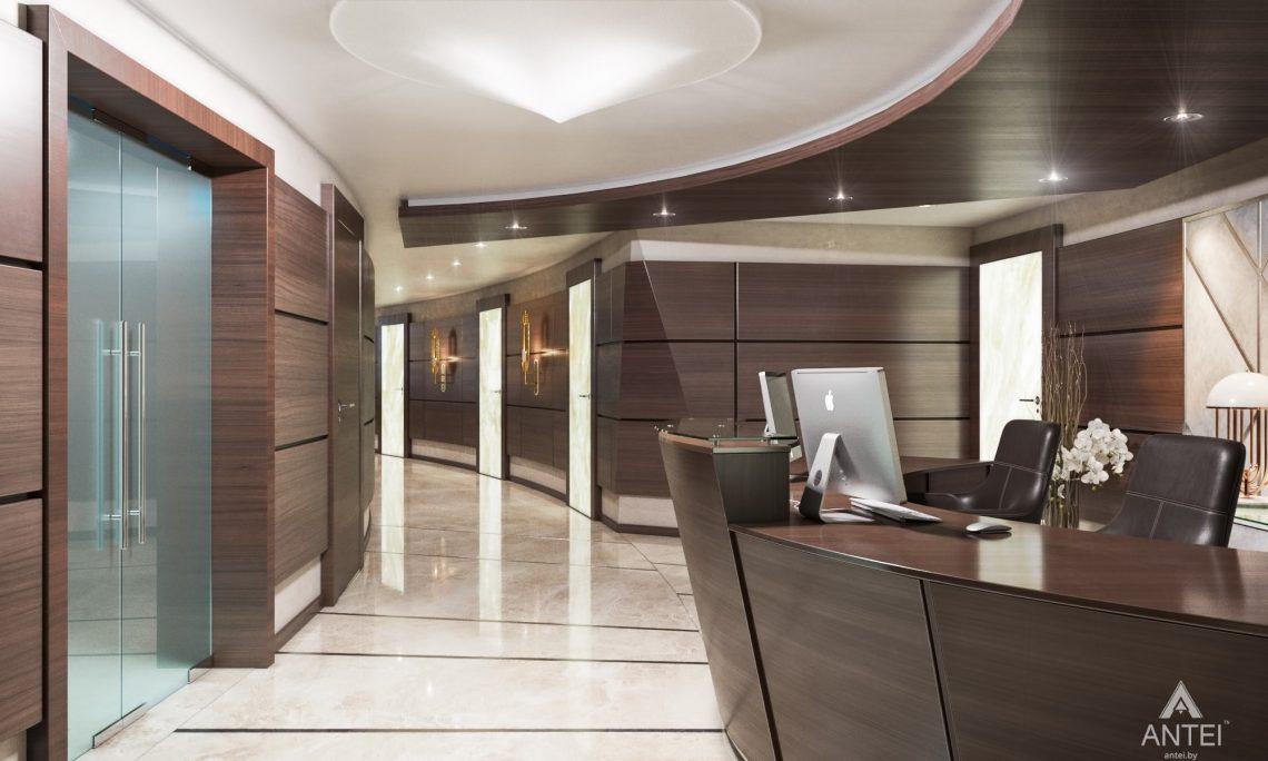 Дизайн интерьера офиса финансовой компании в Москве - холл фото №3
