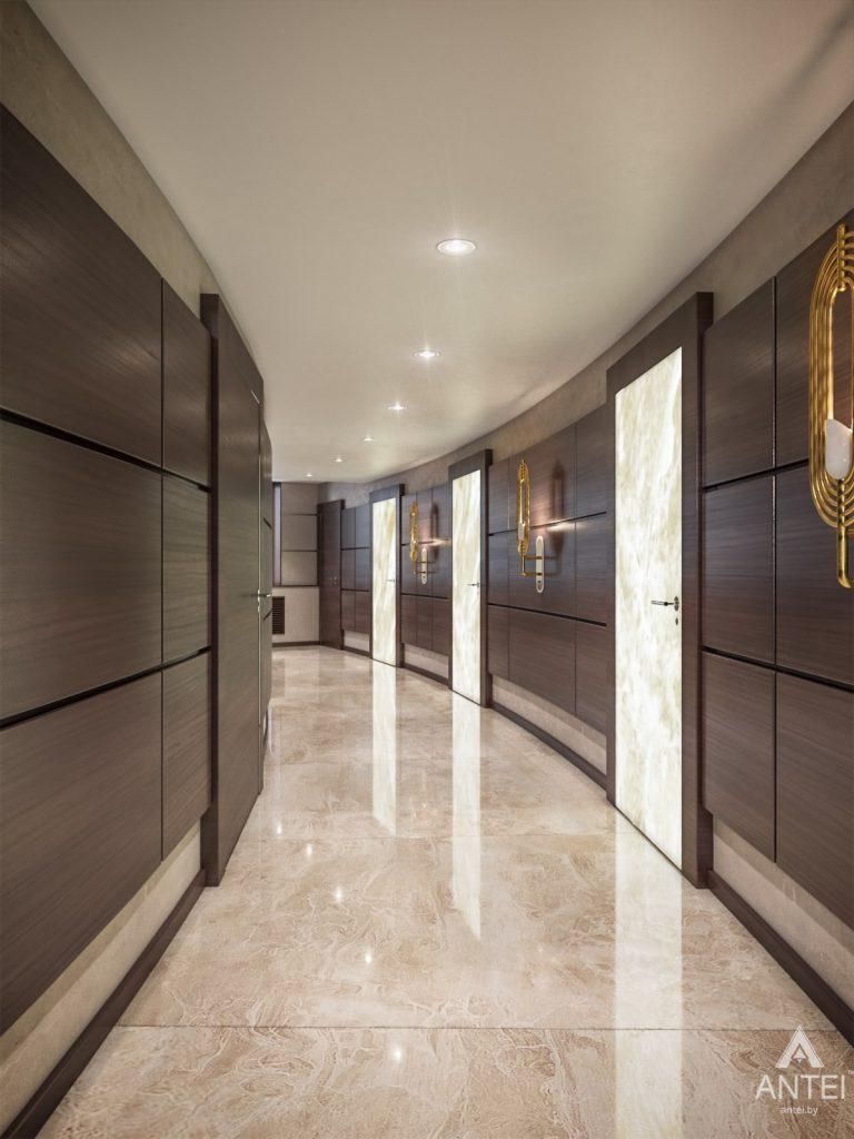Дизайн интерьера офиса финансовой компании в Москве - холл фото №4
