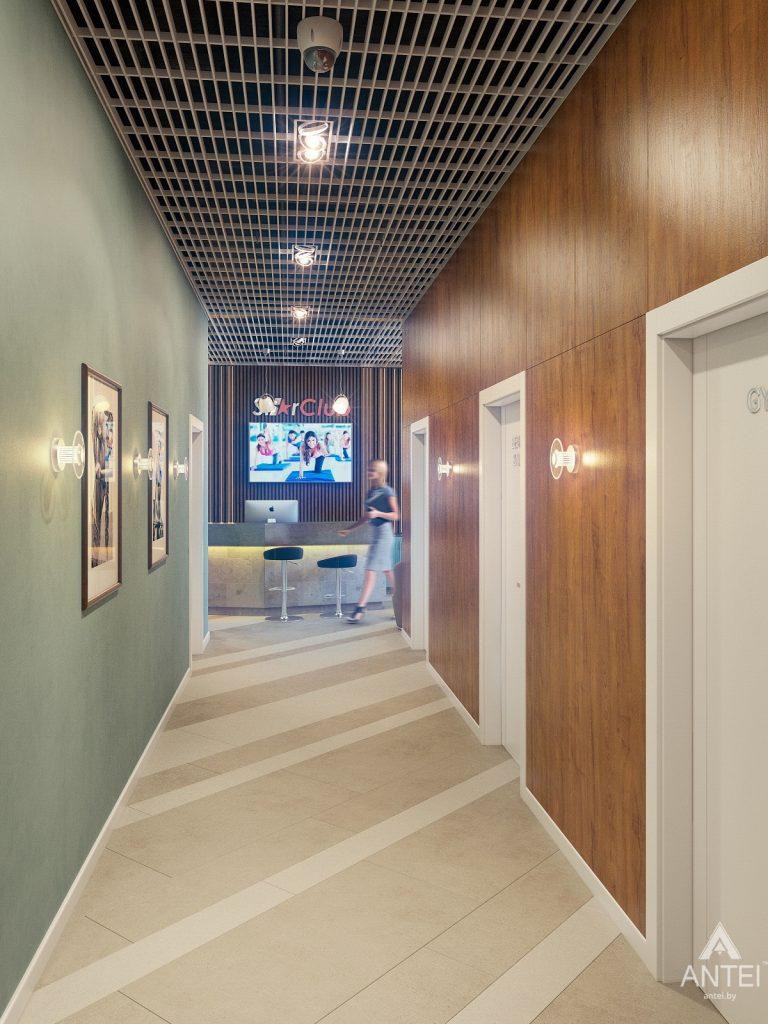 Дизайн интерьера тренажерного зала в Гомеле - холл фото №3