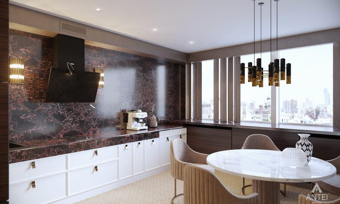 Дизайн интерьера офиса финансовой компании в Москве - кухня фото №2
