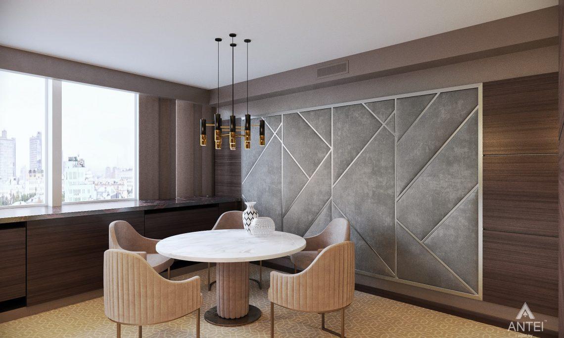 Дизайн интерьера офиса финансовой компании в Москве - кухня фото №3