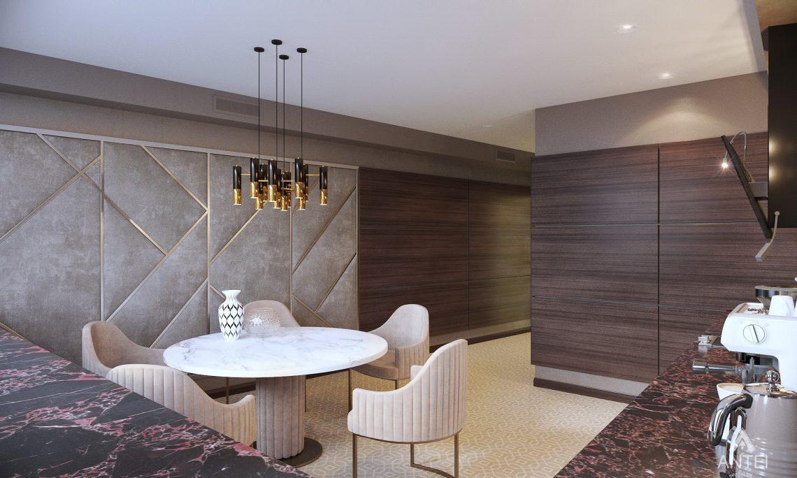 Дизайн интерьера офиса финансовой компании в Москве - кухня фото №4