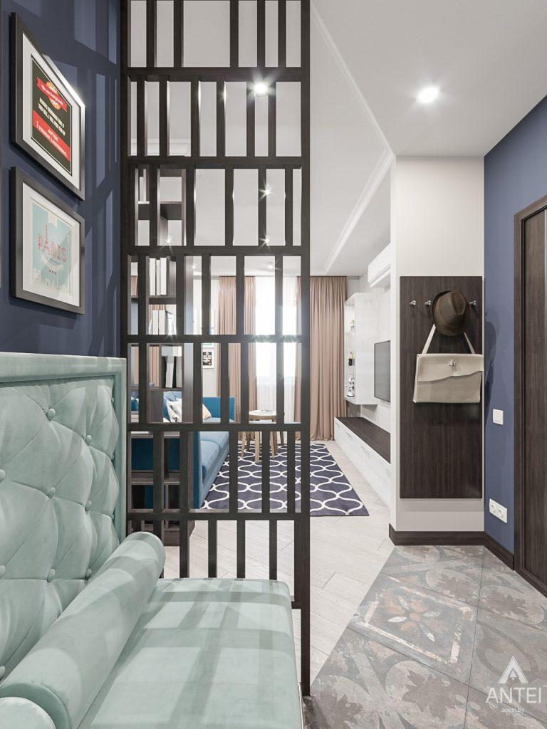 Дизайн интерьера трехкомнатная квартира в Гомеле , ул. Волотовская - прихожая фото №1