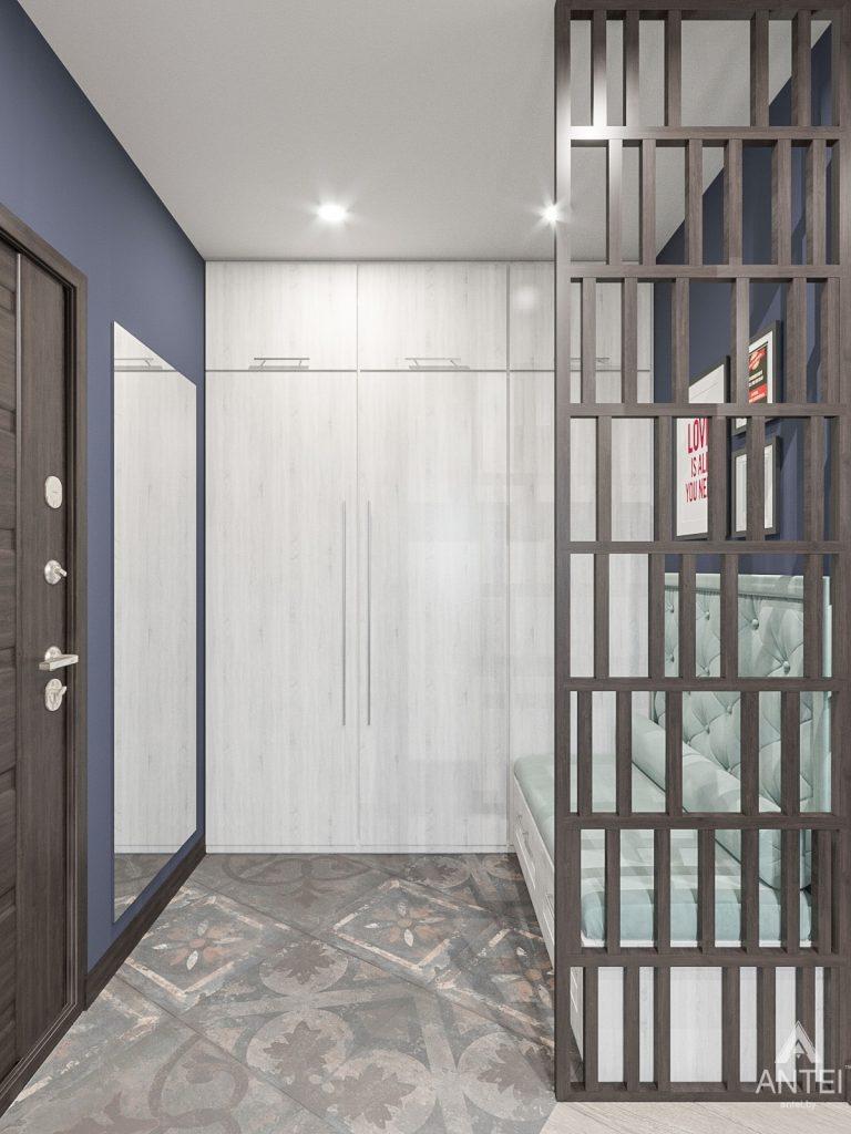 Дизайн интерьера трехкомнатная квартира в Гомеле , ул. Волотовская - прихожая фото №2